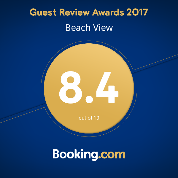 Worthing Accommodation - Booking.com Award - Beach View Apartment Worthing
